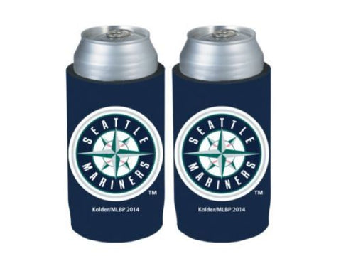 Seattle Mariners Official MLB Ultra Slim Can Drink Beer Holder