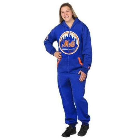New York Mets Official MLB Team Logo Warm Winter Sport Suit
