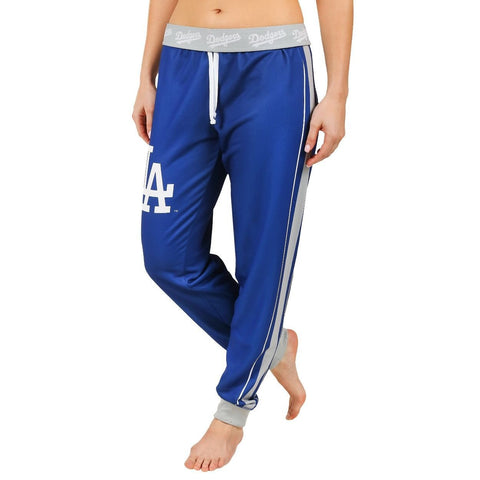 Los Angeles Dodgers Official MLB Women's Poly Fleece Jogger Pants