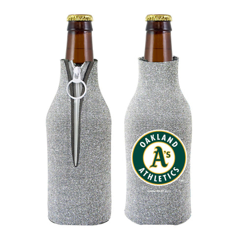 Oakland Athletics Official MLB Licensed Glitter Bottle Cooler Huggie