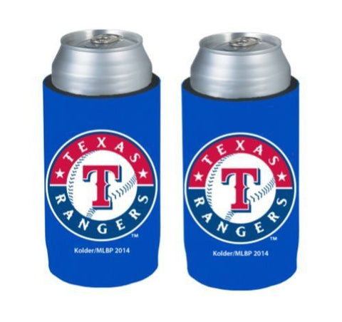 Texas Rangers Official MLB Ultra Slim Can Drink Beer Holder