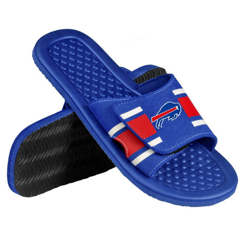 Buffalo Bills Official NFL Men's Shower Slide Flip Flops