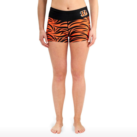 Cincinnati Bengals Official NFL Womens Thematic Bootie Shorts