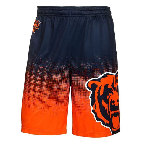 Chicago Bears Official NFL Gradient Polyester Drawstring Shorts