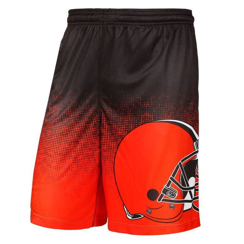 Cleveland Browns Official NFL Gradient Polyester Drawstring Shorts
