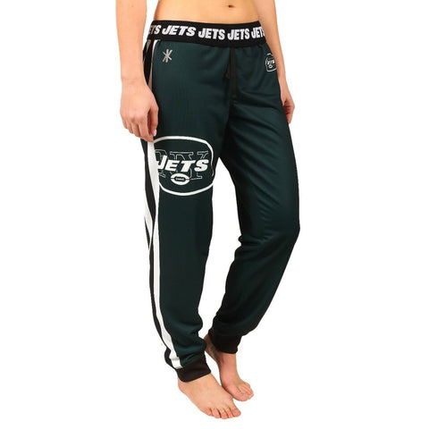New York Jets Official NFL Womens Poly Fleece Jogger Pants