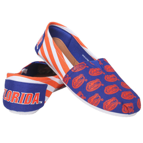 Florida Gators Official NCAA Stripe Canvas Shoes