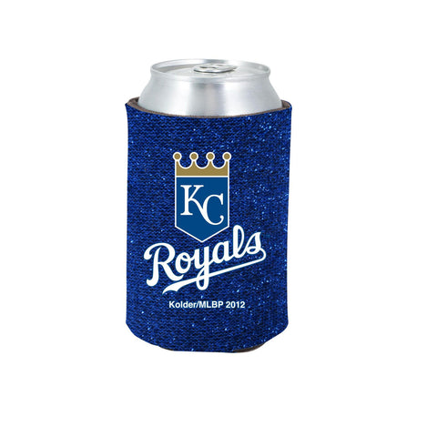 Kansas City Royals Official MLB Glitter Can Collapsable Beer Holders