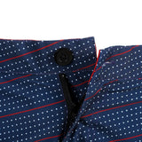 Houston Texans Official NFL Dots Walking Shorts with Pockets Button and Zipper