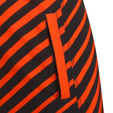 Baltimore Orioles Official MLB Poly Stripes Swimsuit Boardshorts