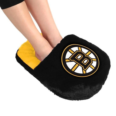 Boston Bruins NHL Hockey Team Logo Team Foot Pillow