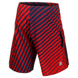 Houston Texans Official NFL Poly Stripes Swimsuit Boardshorts