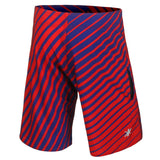 New York Giants Official NFL Poly Stripes Swimsuit Boardshorts