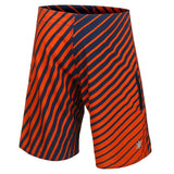 Chicago Bears Official NFL Poly Stripes Swimsuit Boardshorts