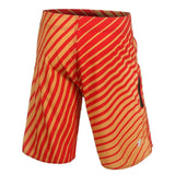 San Francisco 49ers Official NFL Poly Stripes Swimsuit Boardshorts