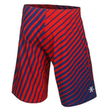 St. Louis Cardinals Official MLB Poly Stripes Swimsuit Boardshorts