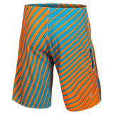 Miami Dolphins Official NFL Poly Stripes Swimsuit Boardshorts