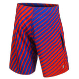 Buffalo Bills Official NFL Poly Stripes Swimsuit Boardshorts