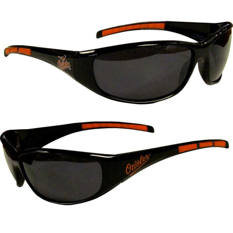 Baltimore Orioles Men's Official MLB 3 Dot Sports Wrap Sunglasses