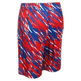 Chicago Cubs Official MLB Team Logo Polyester Repeat Print Training Shorts