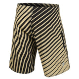 New Orleans Saints Official NFL Poly Stripes Swimsuit Boardshorts