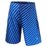 San Diego Chargers Official NFL Poly Stripes Swimsuit Boardshorts