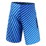 Kansas City Royals Official MLB Poly Stripes Swimsuit Boardshorts