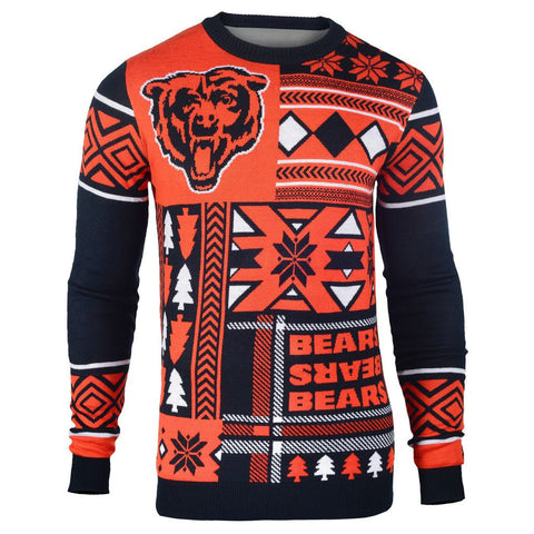 "Chicago Bears Official Men's NFL ""Ugly Sweater"" by Klew"