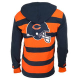 Chicago Bears Official NFL Cotton Rugby Hoody by Klew