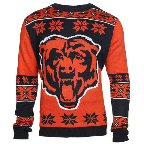 Chicago Bears Official Men's NFL Big Logo Sweater