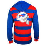 Buffalo Bills Official NFL Cotton Rugby Hoody by Klew