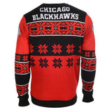 Chicago Blackhawks Official Men's NHL Big Logo Sweater by Klew
