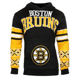 "Boston Bruins Official NHL ""Big Logo"" Hooded Sweatshirt by Klew"