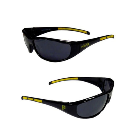 Pittsburgh Pirates Men's Official MLB 3 Dot Sports Wrap Sunglasses
