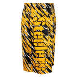 Pittsburgh Steelers Official NFL Team Logo Polyester Repeat Print Training Shorts