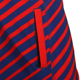 Los Angeles Angels Official MLB Poly Stripes Swimsuit Boardshorts