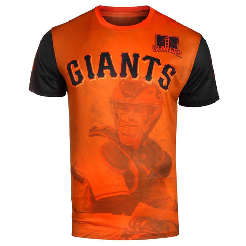 San Francisco Giants B. Posey Official MLB Watermark Player Tee T-Shirt