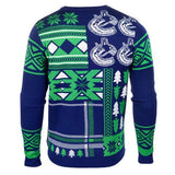 "Vancouver Canucks Official NHL Men's Patches ""ugly Sweater"""