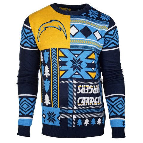 "San Diego Chargers Official NFL Men's ""Ugly Sweater"""