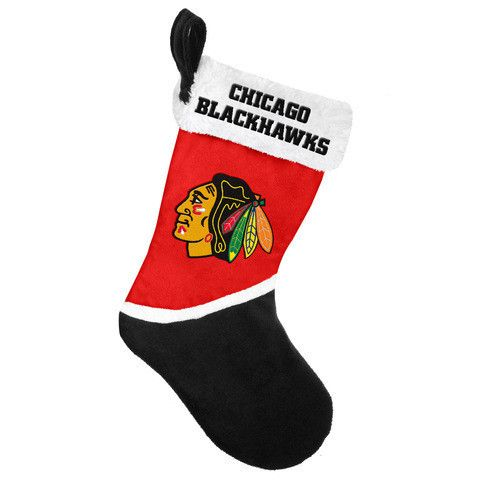Chicago Blackhawks NHL Official 2015 Holiday Stocking