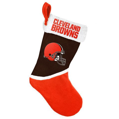 Cleveland Browns NFL Official 2015 Holiday Stocking