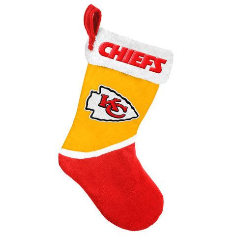 Kansas City Chiefs NFL Official 2015 Holiday Stocking