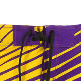 Minnesota Vikings Official NFL Poly Stripes Swimsuit Boardshorts