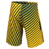 Green Bay Packers Official NFL Poly Stripes Swimsuit Boardshorts