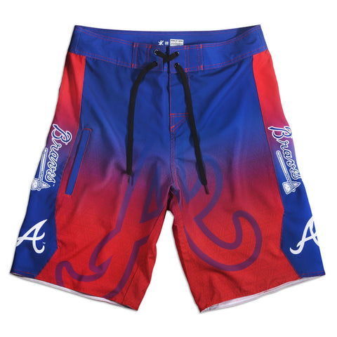 Atlanta Braves Official MLB Boardshorts Swimsuit