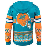 "Miami Dolphins Official NFL ""Big Logo"" Hooded Sweatshirt by Klew"
