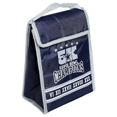 Dallas Cowboys NFL Commerorative Big Logo Velcro Lunch Bag