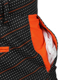 San Francisco Giants Official MLB Dots Walking Shorts with Pockets Button and Zipper