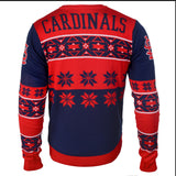 St Louis Cardinals Official MLB Big Logo Ugly Crew Neck Sweater