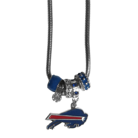 Buffalo Bills Official NFL Euro Bead Necklace